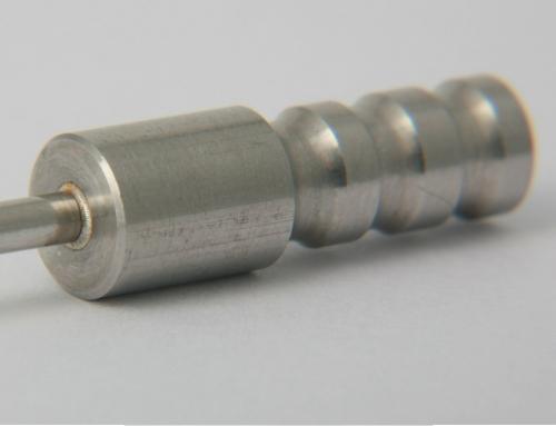 Verschweißen von Rohren Ø 4,0 x 0,2 mit Grundkörper ohne Zusatz.
