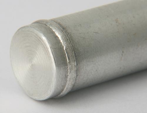Orbitalschweißen auf Aluminium Ø 20mm.